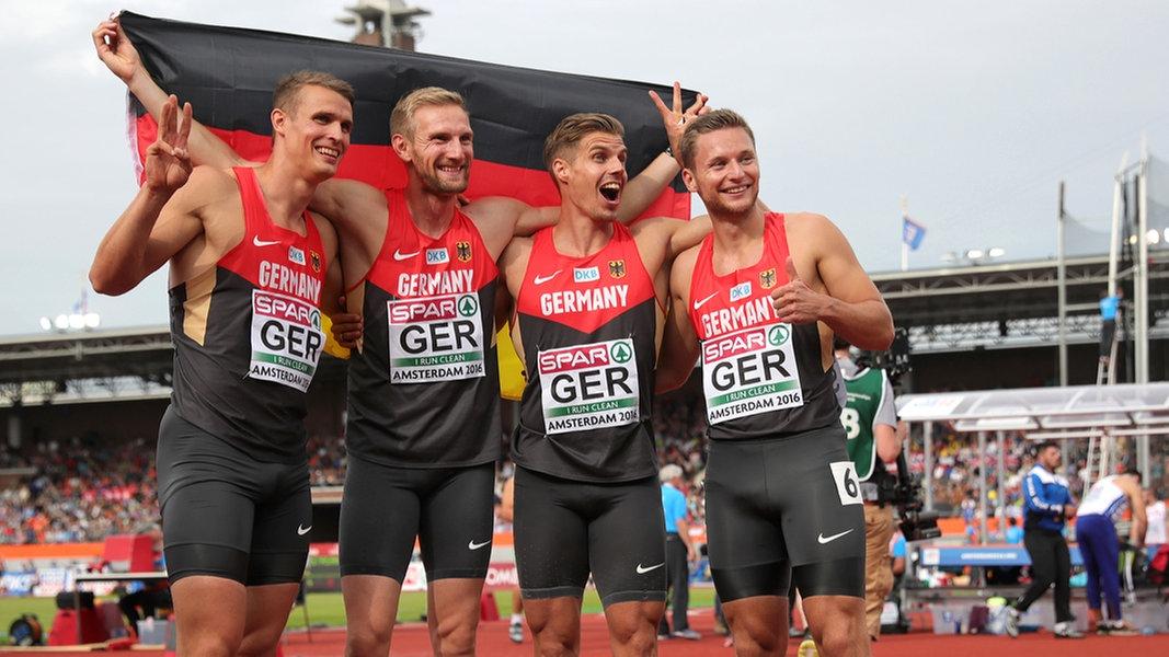 4x100 Meter Staffel Männer