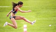 Die 3000-Meter-Hürdenläuferin Gesa Felicitas Krause
