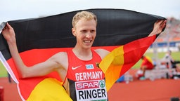 Der deutsche 5.000-Meter-Läufer Richard Ringer ©  imago/Beautiful Sports