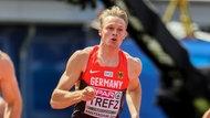 Der deutsche 400m-Läufer Johannes Trefz