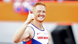Weitspringer Greg Rutherford aus Großbritannien © picture alliance / empics Foto: Martin Rickett