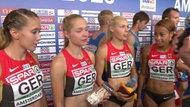 4x100 Meter Staffel der Frauen